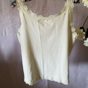 Christopher and Banks Camisole Tank Top Sz L